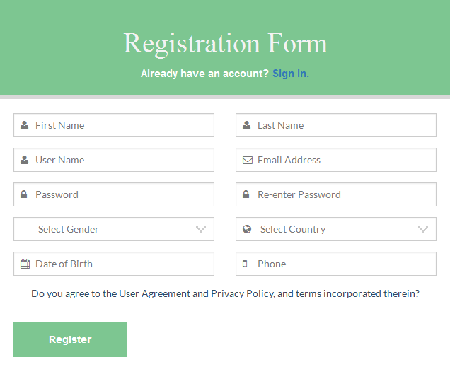 Flat Multipurpose Forms With Twitter Bootstrap3 By Dreamweblab
