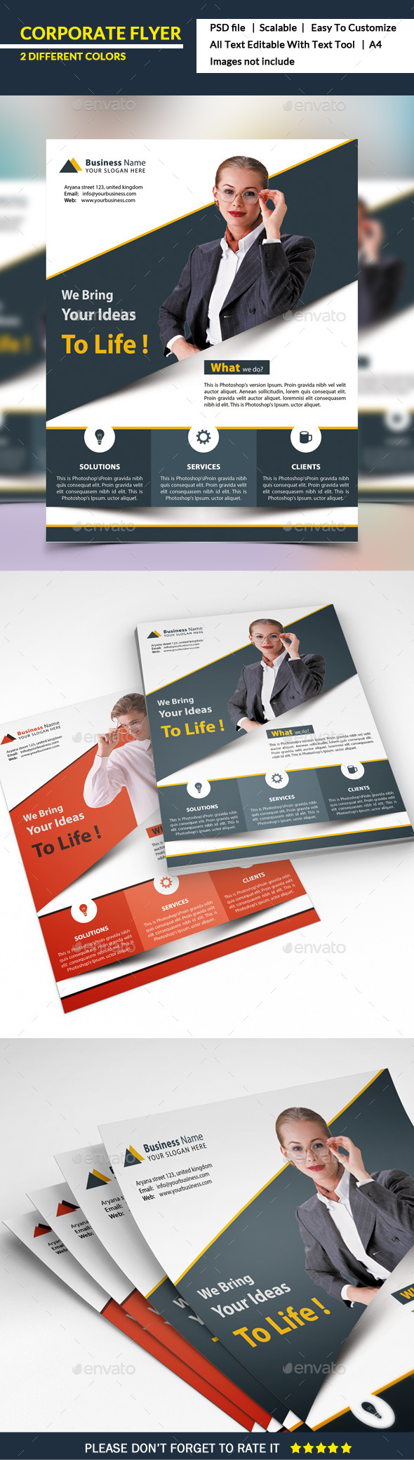 Corprorate Flyer - Corporate Flyers