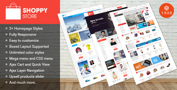 Shoppy Store – Multipurpose Magento Theme