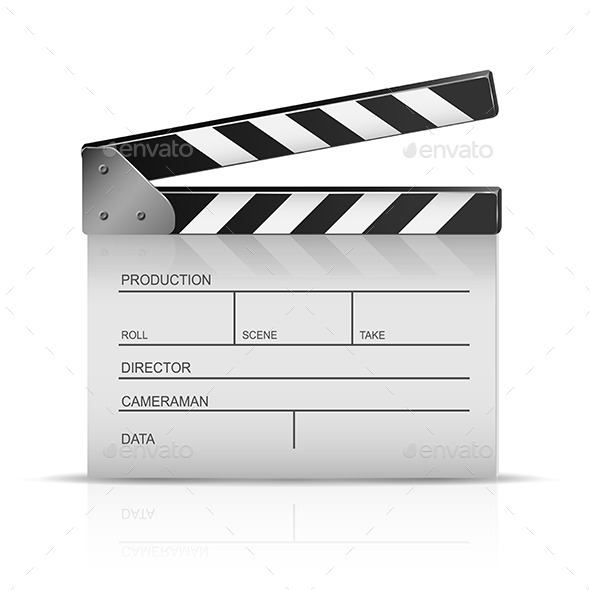 Clapperboard - Man-made Objects Objects