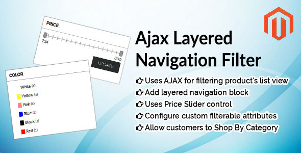 Ajax Layered Navigation Filter Magento Extension - CodeCanyon Item for Sale