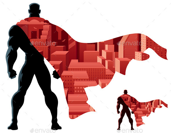 Abstract Superhero  - People Characters