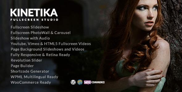 Kinetika   Photography Theme for WordPress