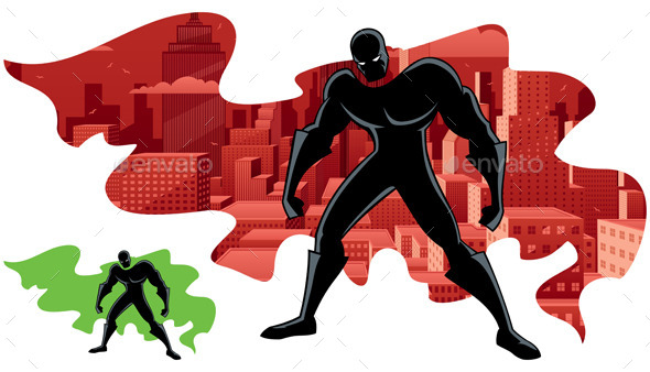 Abstract Superhero 2 - Miscellaneous Characters
