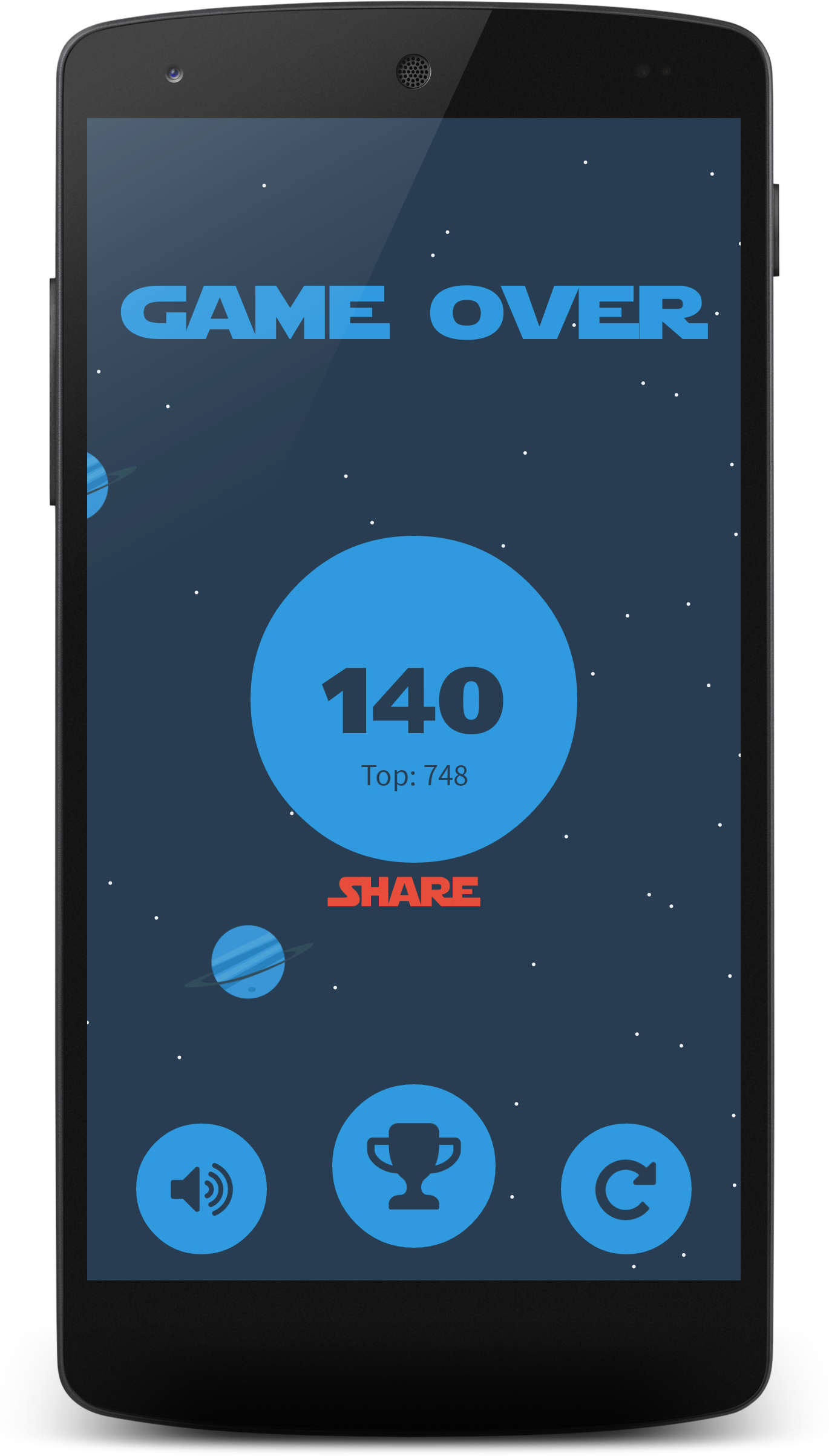 Space Rocket - Android Arcade Game