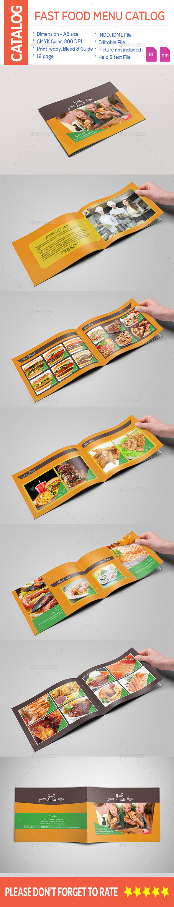 Fast Food Menu Catalog - Catalogs Brochures