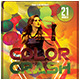Color Crash Flyer Template - GraphicRiver Item for Sale