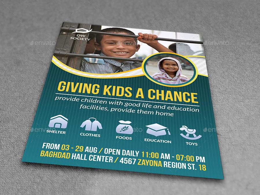 Charity Flyer Idealstalist