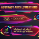 Abstract Arts Lower Third - VideoHive Item for Sale