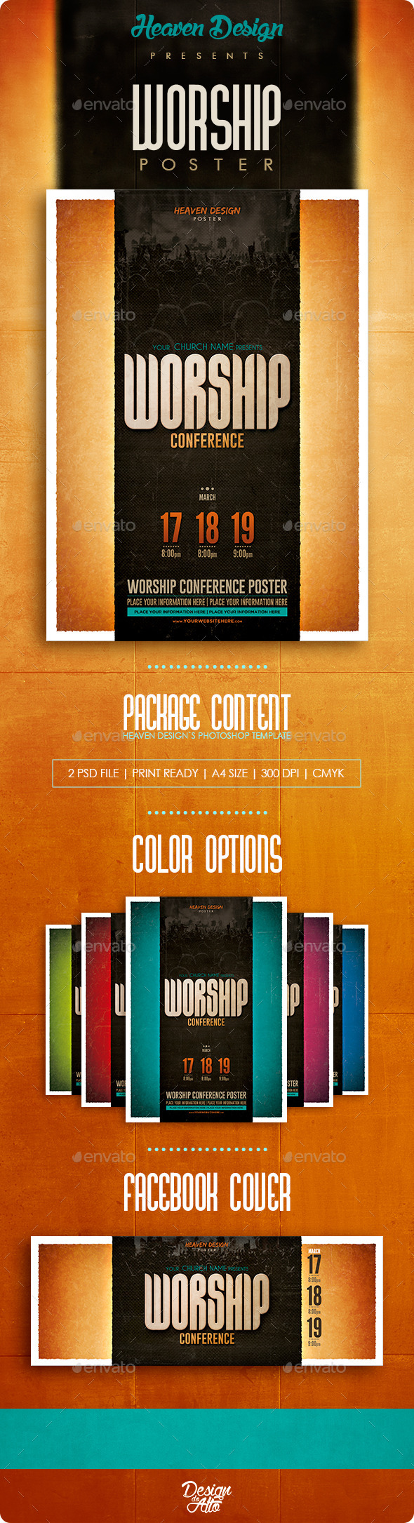Worship Conference | Poster - Events Flyers