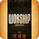 Worship Conference | Poster - GraphicRiver Item for Sale