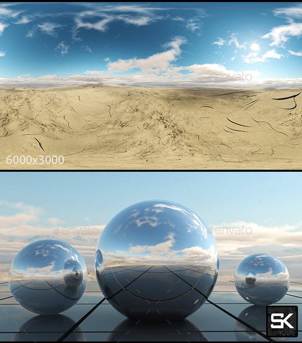 Sunrise In The Desert.3 - 3DOcean Item for Sale