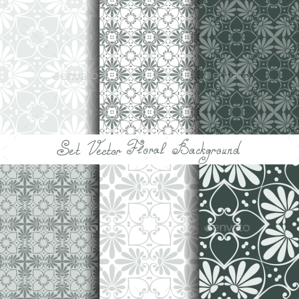 Seamless Floral Ornaments - Patterns Decorative