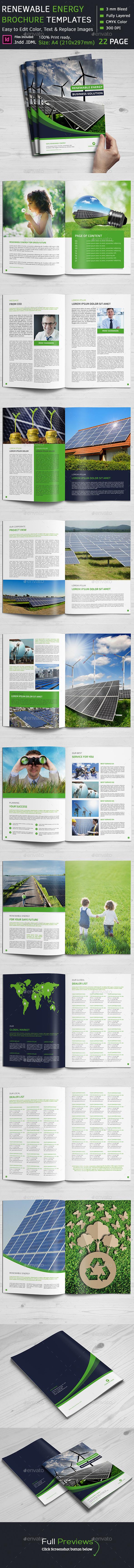 Renewable Energy Brochure - Corporate Brochures