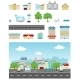Urban Street Set - GraphicRiver Item for Sale