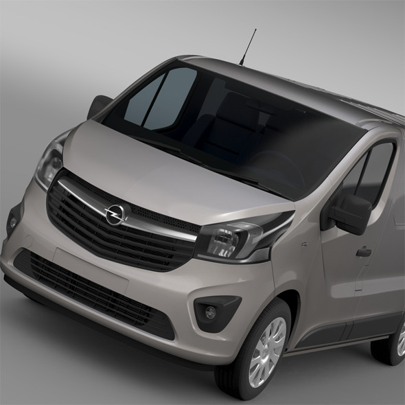 Opel Vivaro Van 2015 - 3DOcean Item for Sale