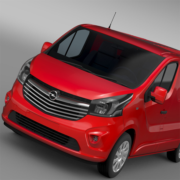 Opel Vivaro Van Biturbo 2015 - 3DOcean Item for Sale