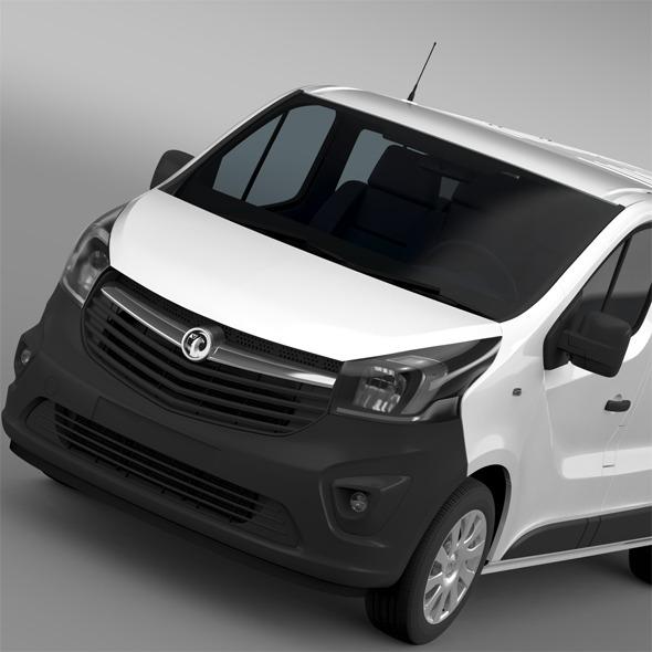 Vauxhall Vivaro MultiVan EcoFlex 2015 - 3DOcean Item for Sale