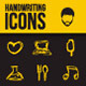 Handwritten Vector Icons - GraphicRiver Item for Sale