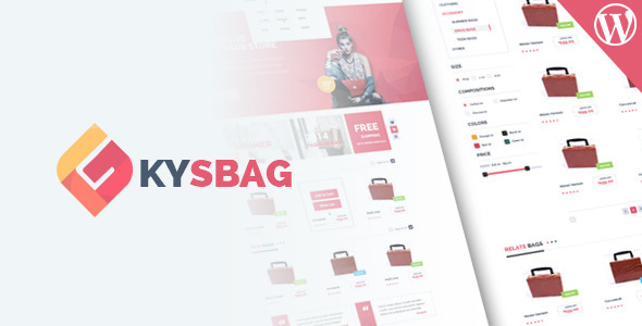 Kysbag – Responsive WordPress WooCommerce Theme