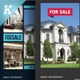 Real Estate Flyer Templates vol.03 - GraphicRiver Item for Sale