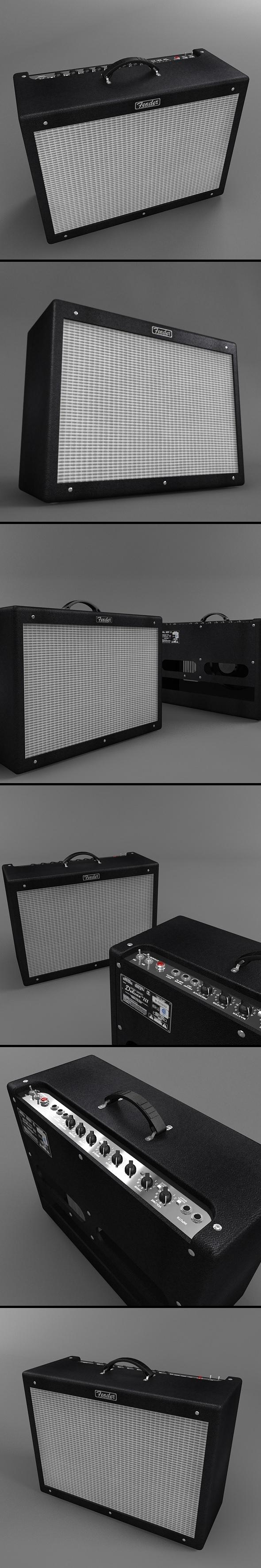 Fender Hot Rod Deluxe iii Guitar Amplifier - 3DOcean Item for Sale