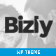 Bizly - Lawyer and business theme for small companies - ThemeForest Item for Sale