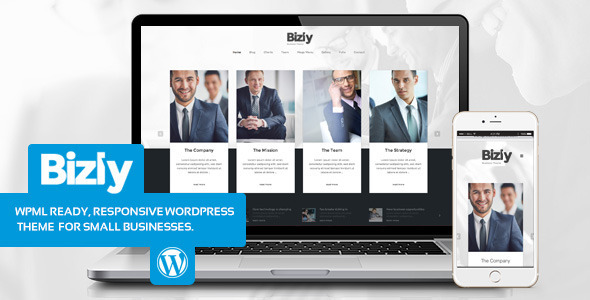 Bizly – Lawyer and business theme for small companies
