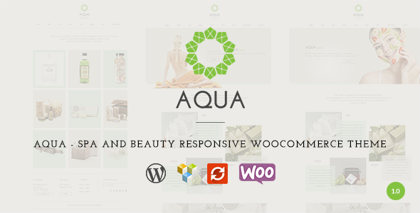 Aqua – Spa and Beauty Responsive WooCommerce Theme