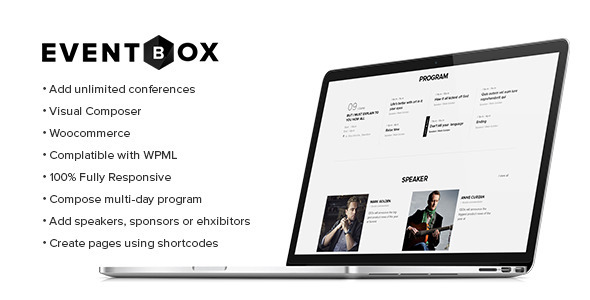 Eventbox – Club/Workshop/Party WordPress Theme