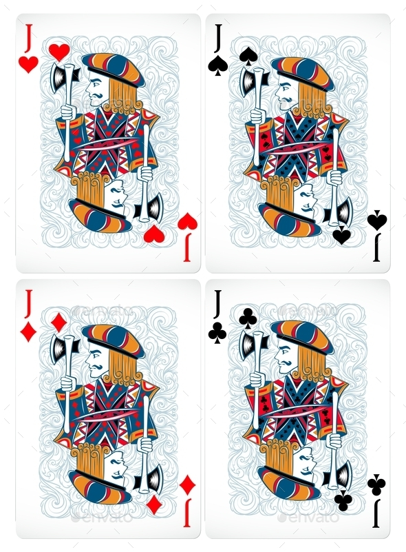 Poker Cards - Man-made Objects Objects