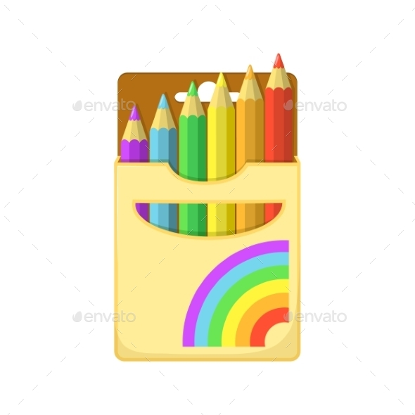 Color Pencils - Decorative Symbols Decorative
