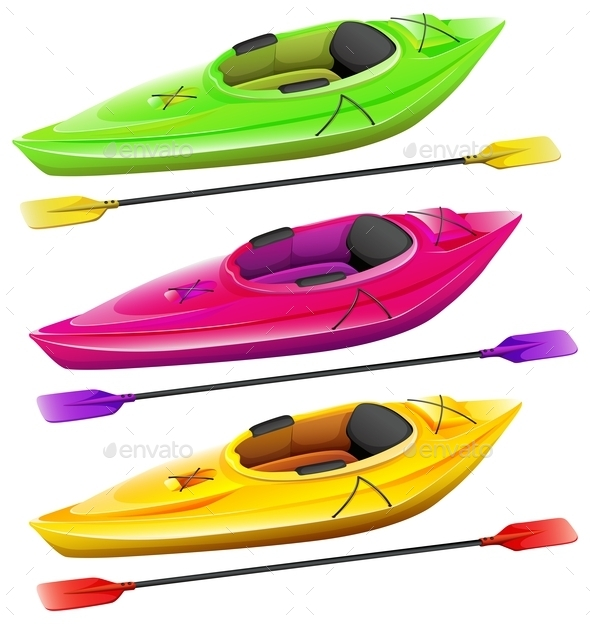Kayaks - Man-made Objects Objects