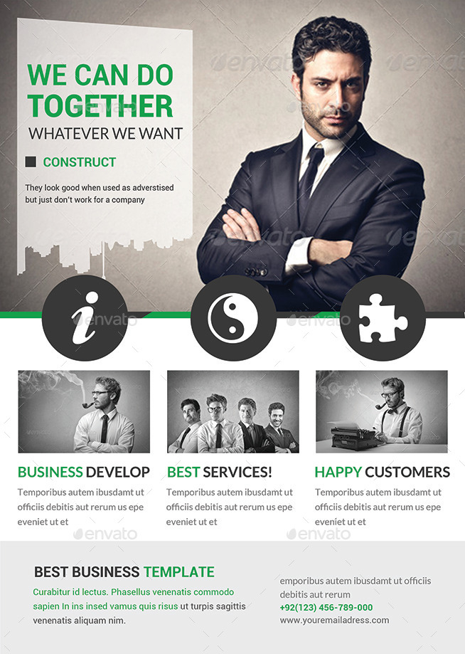 business flyers templates by afjamaal