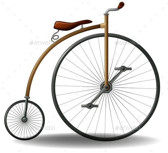 Retro Bike - Man-made Objects Objects