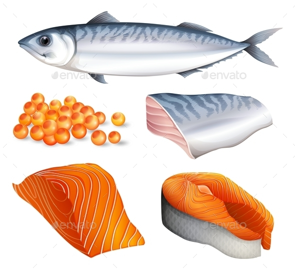 Salmon - Food Objects