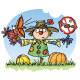 Scarecrow: Noise Prohibited - GraphicRiver Item for Sale