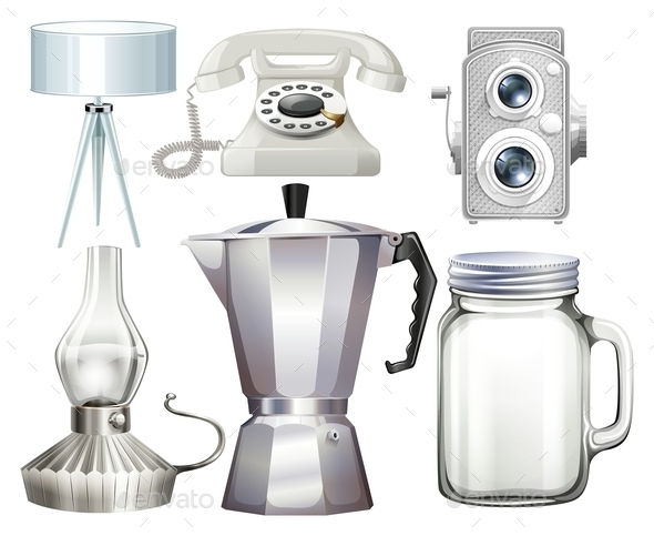 Household Objects - Man-made Objects Objects