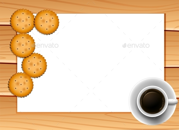 Coffee and Cookies - Food Objects