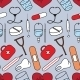Medical Seamless Pattern - GraphicRiver Item for Sale