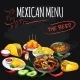 Mexican Menu.  - GraphicRiver Item for Sale