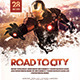 Road To City Movie Poster/Flyer 02 - GraphicRiver Item for Sale