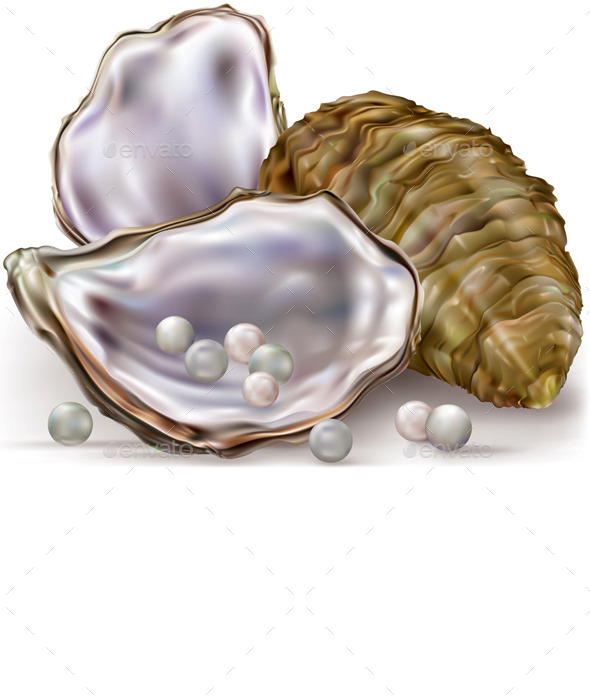 Oyster Shell Pearls - Miscellaneous Characters