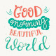 Hand Lettering Morning Posters - GraphicRiver Item for Sale