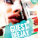 Guest Deejay Flyer Template - GraphicRiver Item for Sale
