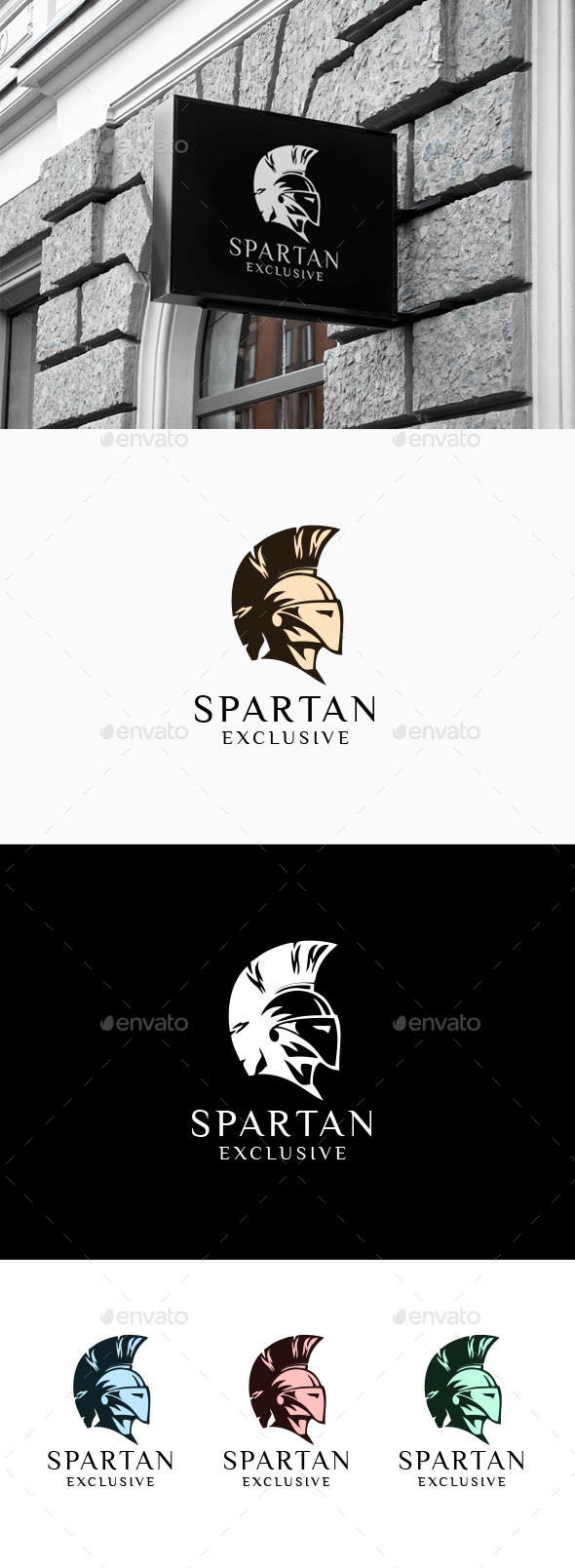 Spartan - Logo Template - Humans Logo Templates