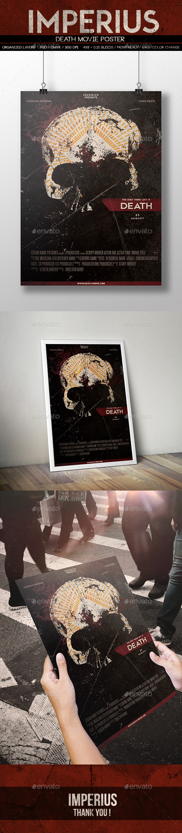 Death Movie Poster - Miscellaneous Events