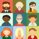 Avatars Illustration Icons - GraphicRiver Item for Sale