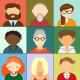 Avatars Illustration Icons - GraphicRiver Item for Sale