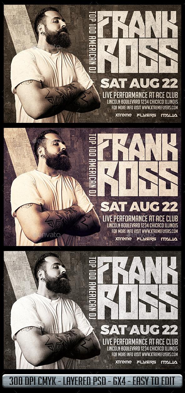Club DJ Flyer - Clubs & Parties Events